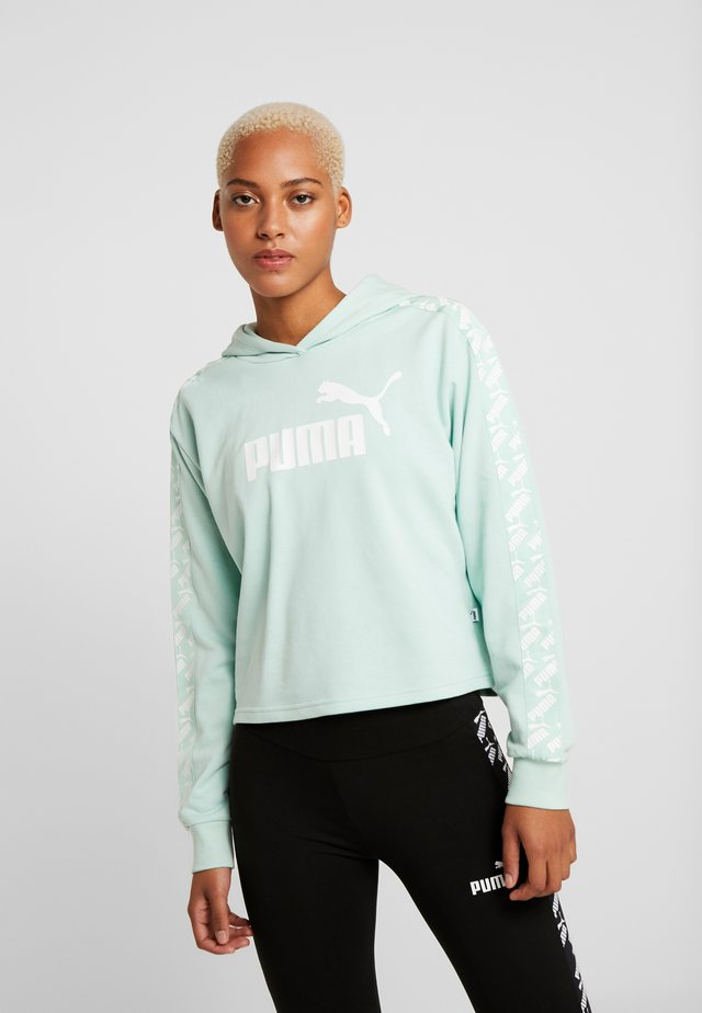 AMPLIFIED CROPPED HOODY  - Jersey con capucha - mist green