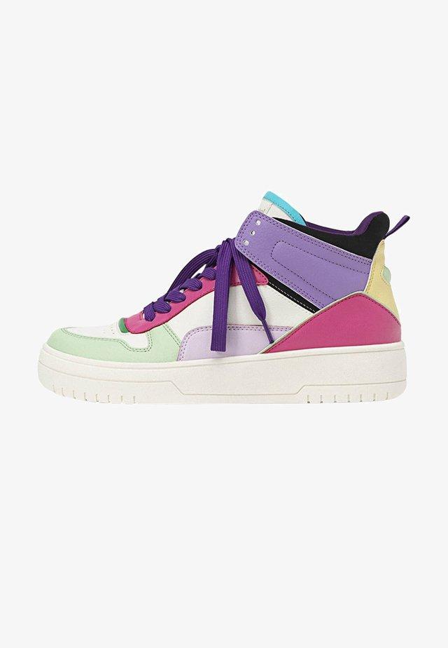 MIT FARBLICH ABGESETZTEN ELEMENTEN  - Sneakers hoog - multi-coloured