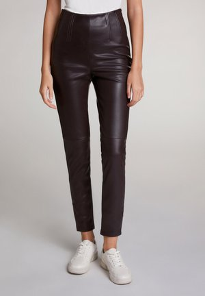 Trousers - ganache