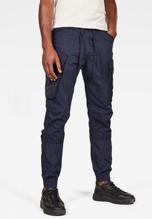 ATOLL TRAINER CUFFED - Pantaloni cargo - sartho blue