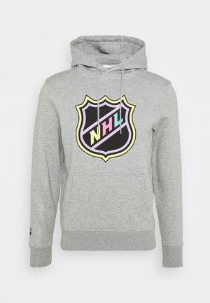 NHL ICONIC REFRESHER GRAPHIC HOODIE - Mikina - sports grey