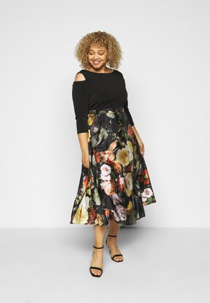 Cocktail dress / Party dress - black/multi