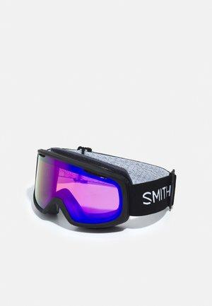 RIOT UNISEX - Ski goggles - black