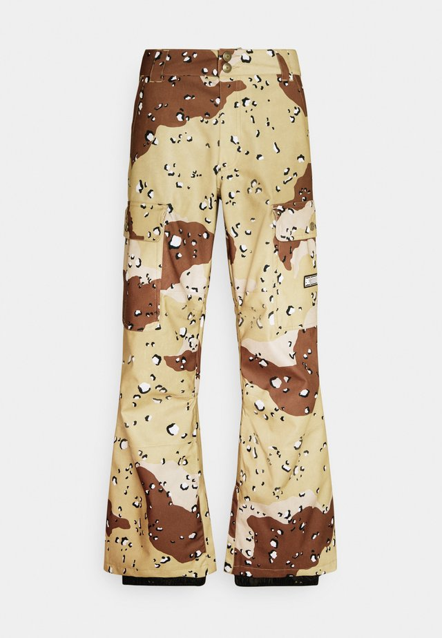 CODE PANT - Skibroek - chocolate chip