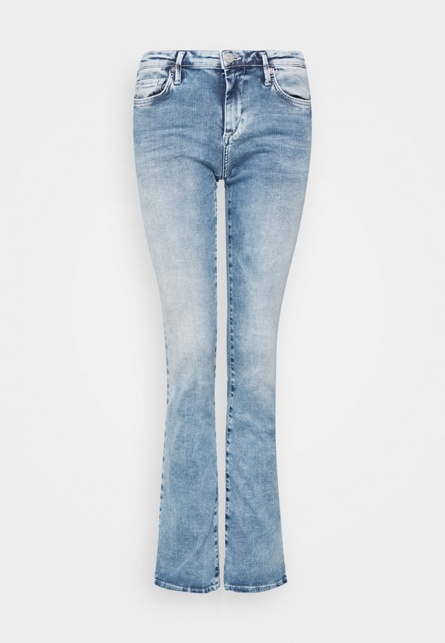 NEW HALLE BOOTCUT - Jean bootcut - blue