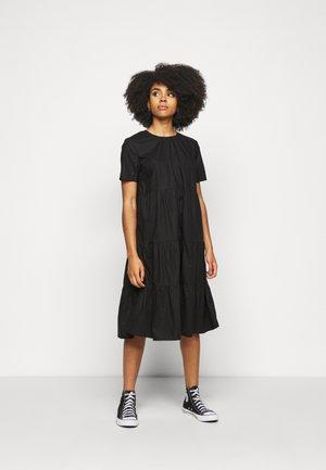 NMCAROLINE DRESS PETITE - Day dress - black