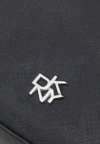 DKNY - CAROL POUCHETTE - Handbag - black/silver-coloured - 4