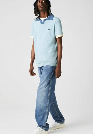 Polo shirt - hellblau / blau