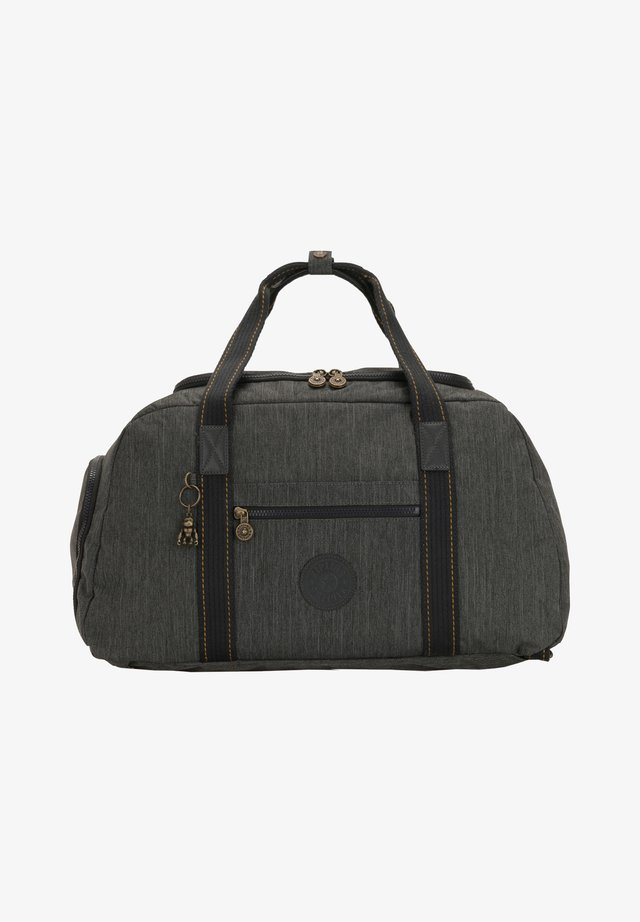 Weekend bag - black indigo