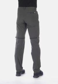 Mammut - RUNBOLD ZIP OFF - Outdoor trousers - dark grey - 1