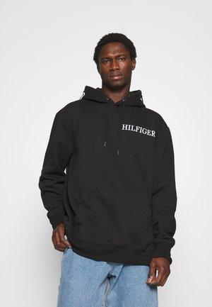 LOGO HOOD HOODY - Sweatshirt - black