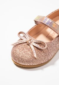 Friboo - Ankle strap ballet pumps - rose gold - 2