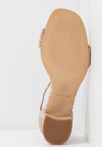 ALDO - VALENTINA - Sandals - light silver - 6