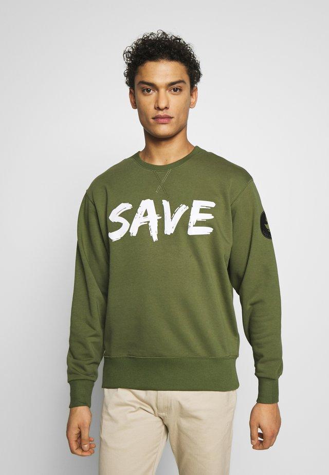 FLEEX - Sweatshirt - caper green