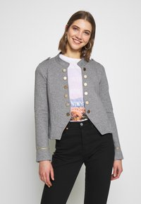 ONLY - ONLANETTA - Blazer - medium grey melange - 0