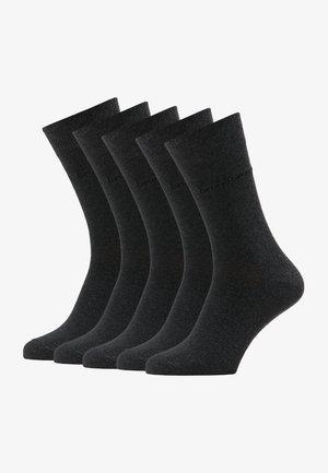 Sokken - anthrazit melange