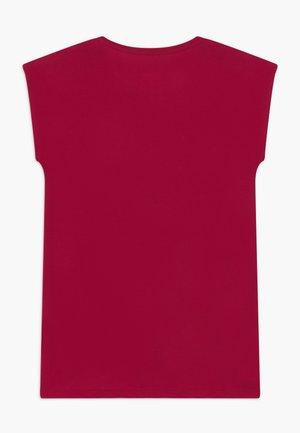 JUNIOR - T-shirt print - disco pink
