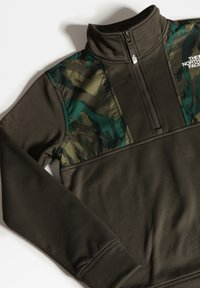The North Face - B SURGENT 1/4 ZIP - Sweatshirt - new taupe green - 3