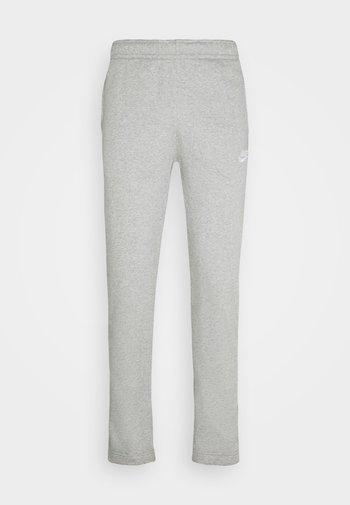 CLUB PANT - Träningsbyxor - grey heather/matte silver/white