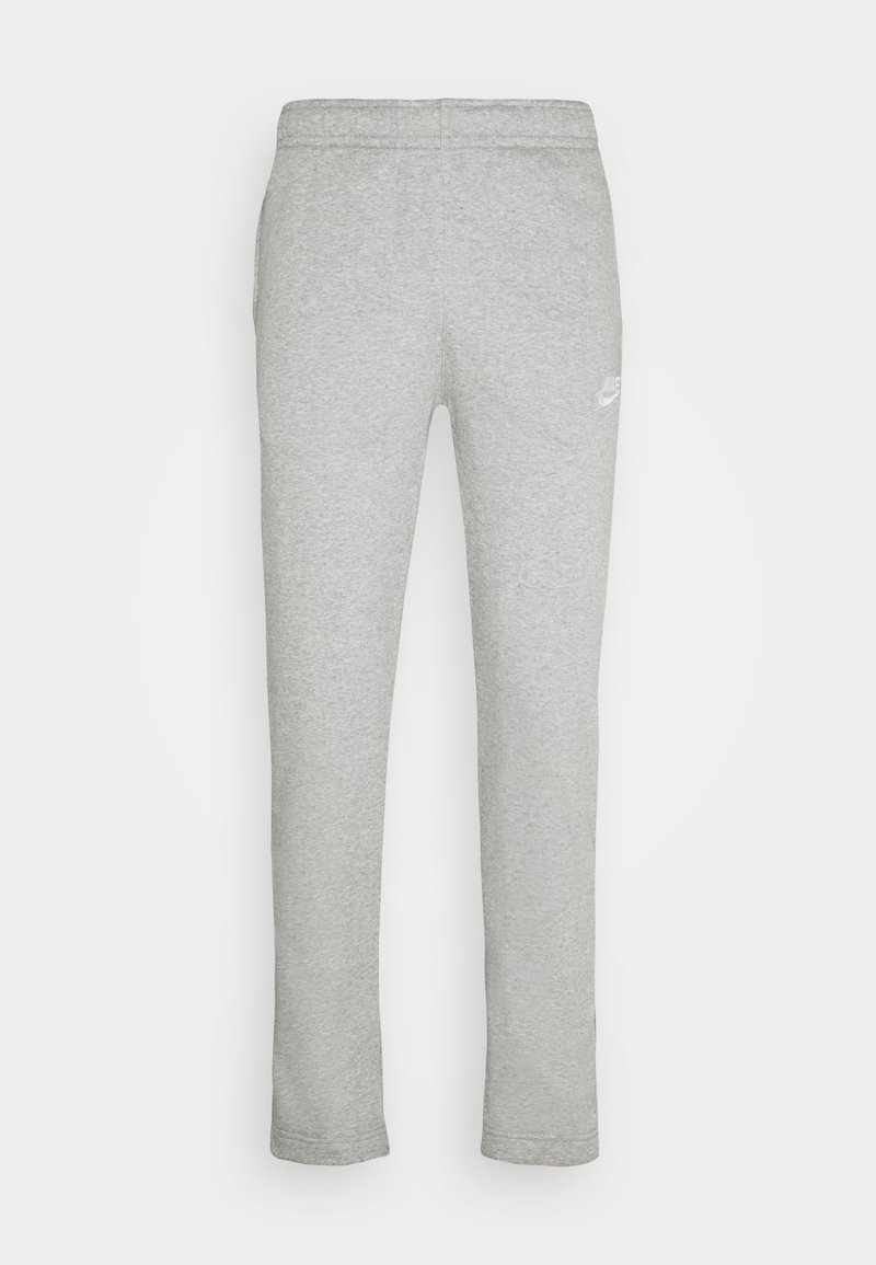 Nike Sportswear - CLUB PANT - Træningsbukser - grey heather/matte silver/white