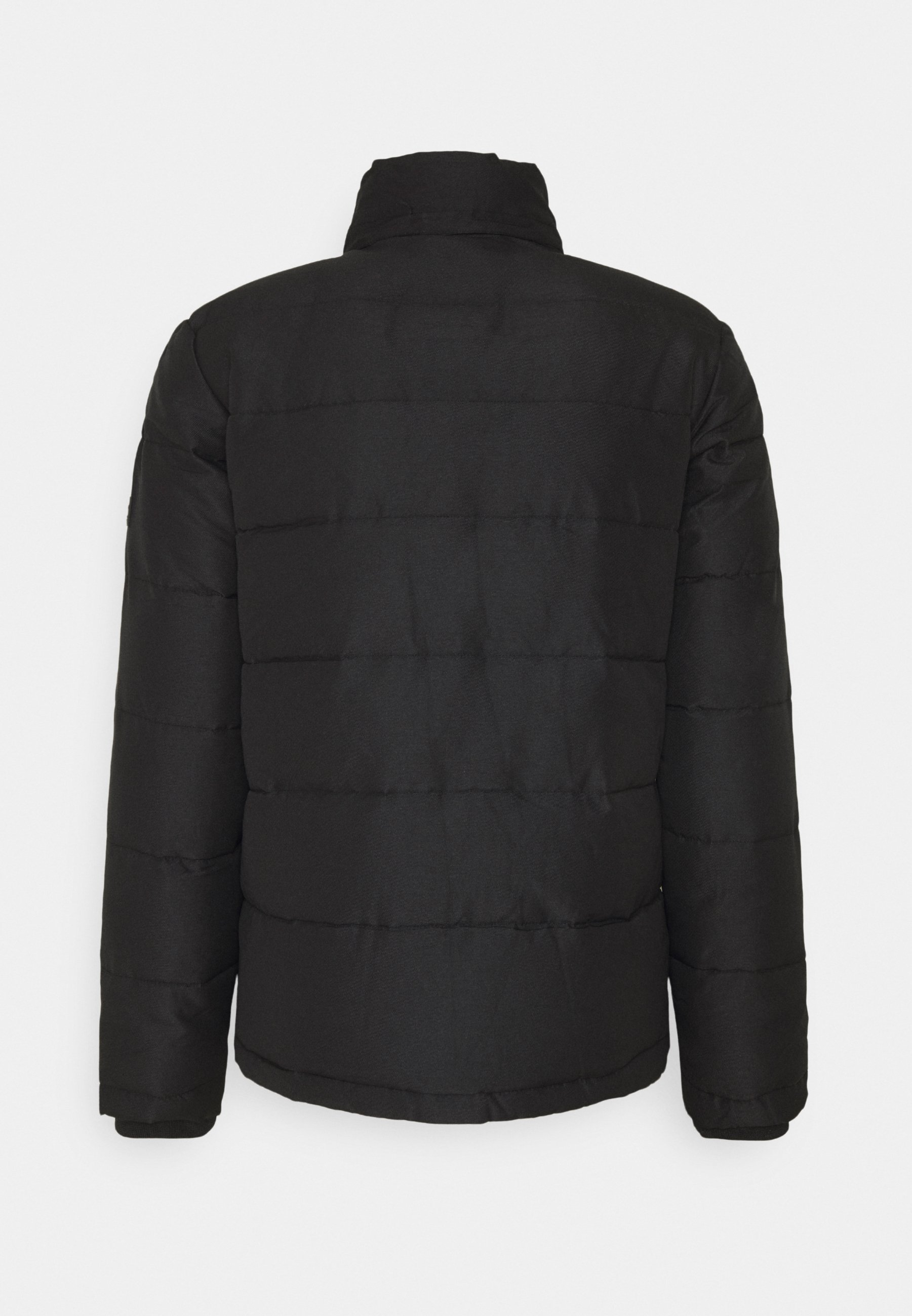 Clean And Classic Cheapest Men's Clothing Jack & Jones JJREGAN PUFFER Winter jacket black IZAAzYArw b18q3EQGN