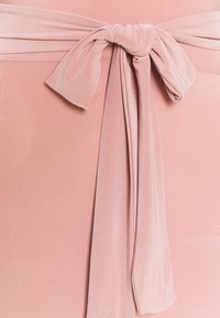 Missguided - ONE SHOULDER SLINKY DRESS - Tubino - blush - 2