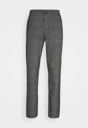 ONSMARK PANTS CHECK - Trousers - medium grey melange