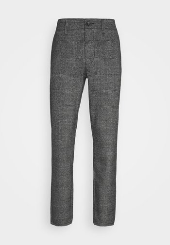 ONSMARK PANTS CHECK - Trousers - medium grey melange