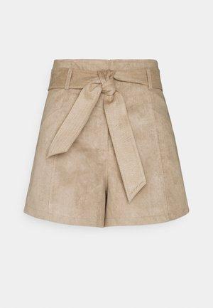 SHIKOU - Shorts - beige