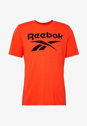 SPEEDWICK SPORT SHORT SLEEVE GRAPHIC TEE - T-shirt con stampa - orange