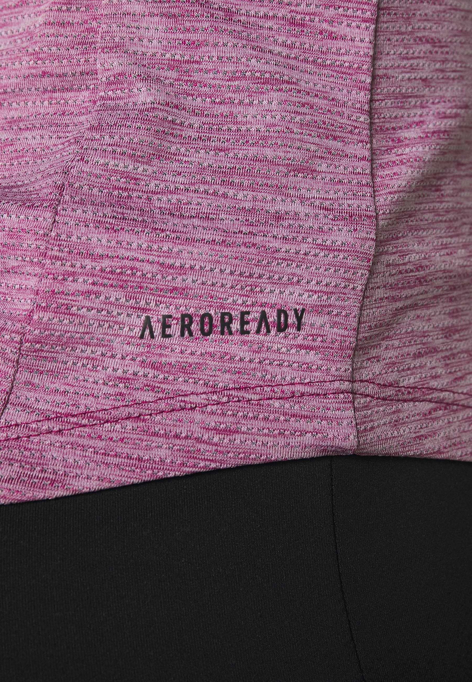 adidas Performance TEE - Basic T-shirt - purple j7AUo