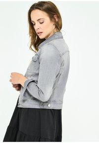 LolaLiza - Denim jacket - grey - 2