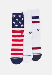 Stance - THE AMERICANA 3 PACK - Socks - multi - 0