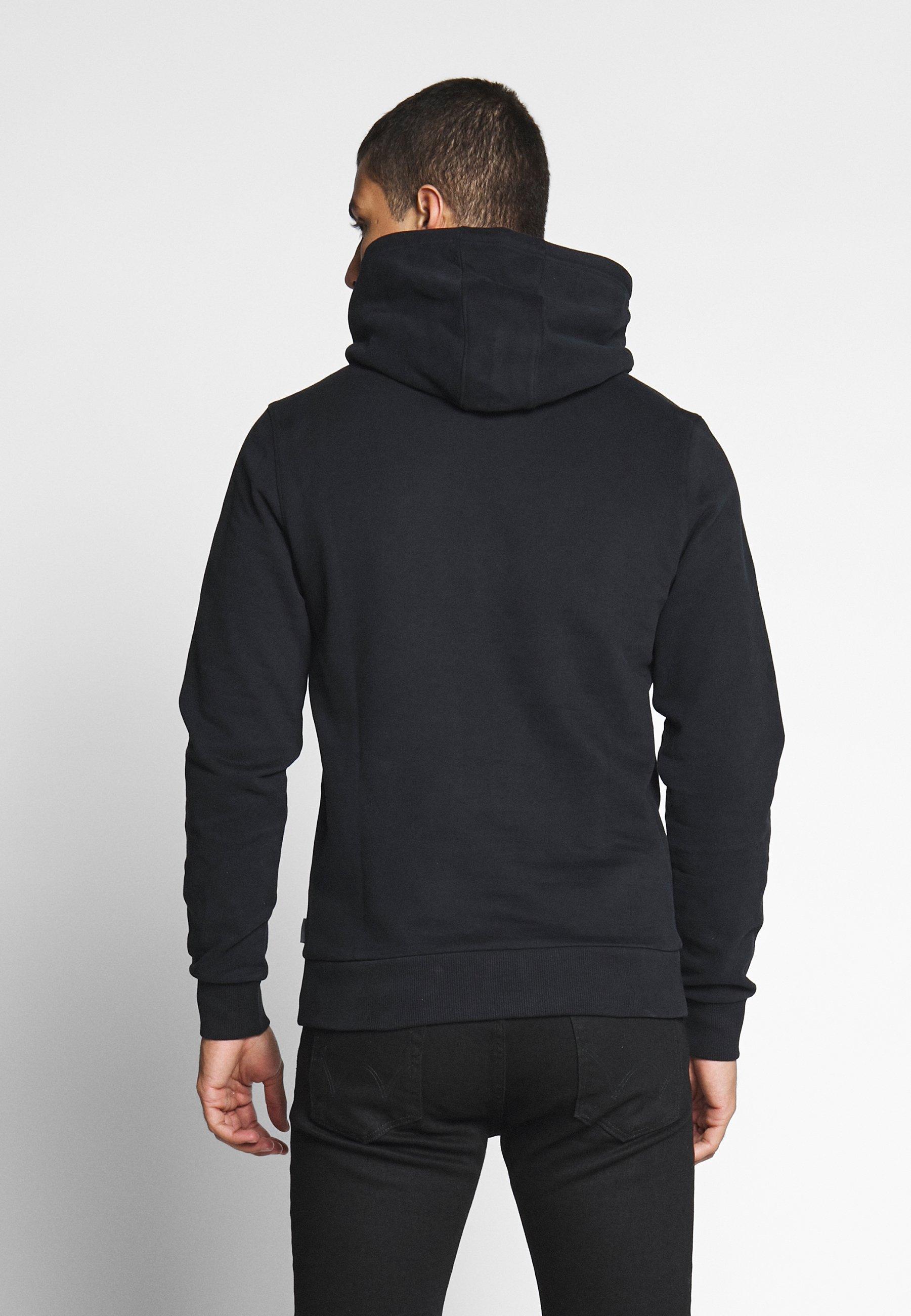 Calvin Klein LOGO EMBROIDERY HOODIE - Sweat à capuche - black