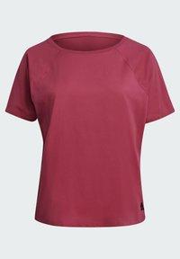 adidas Performance - W TE TEE PB - T-shirts - pink - 7