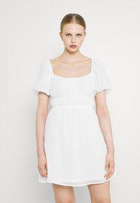 Nly by Nelly - MAKE IT HAPPEN DRESS - Kjole - white - 0