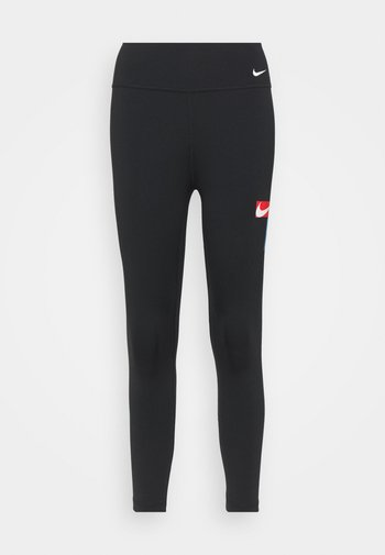 ONE CROP - Collants - black/photo blue/chile red/white
