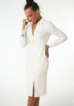 Shirt dress - offwhite