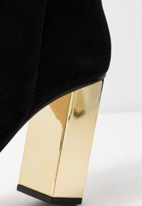 MICHAEL Michael Kors - PETRA - High heeled ankle boots - black - 2