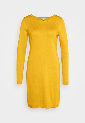 DRESS - Jumper dress - brass yellow
