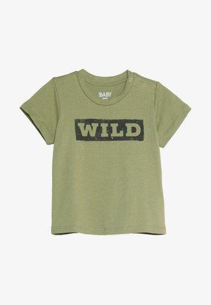 JAMIE SHORT SLEEVE TEE BABY - T-shirt z nadrukiem - khaki