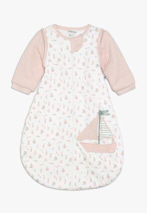 SCHLAFSACK MIT ABNEHMBAREN ÄRMELN MA PETIT - Baby's sleeping bag - rosa