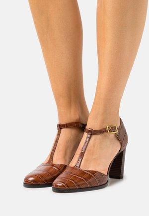 KAYLIN - Classic heels - dark brown