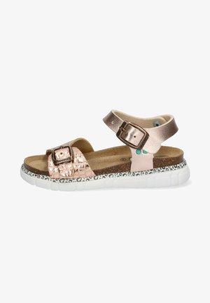 BO BEACH - Sandalen met plateauzool - pink