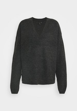 YASSELLIS ICON - Svetr - dark grey melange