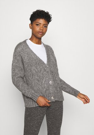 ONLMARCELLA CARDIGAN - Cardigan - medium grey melange