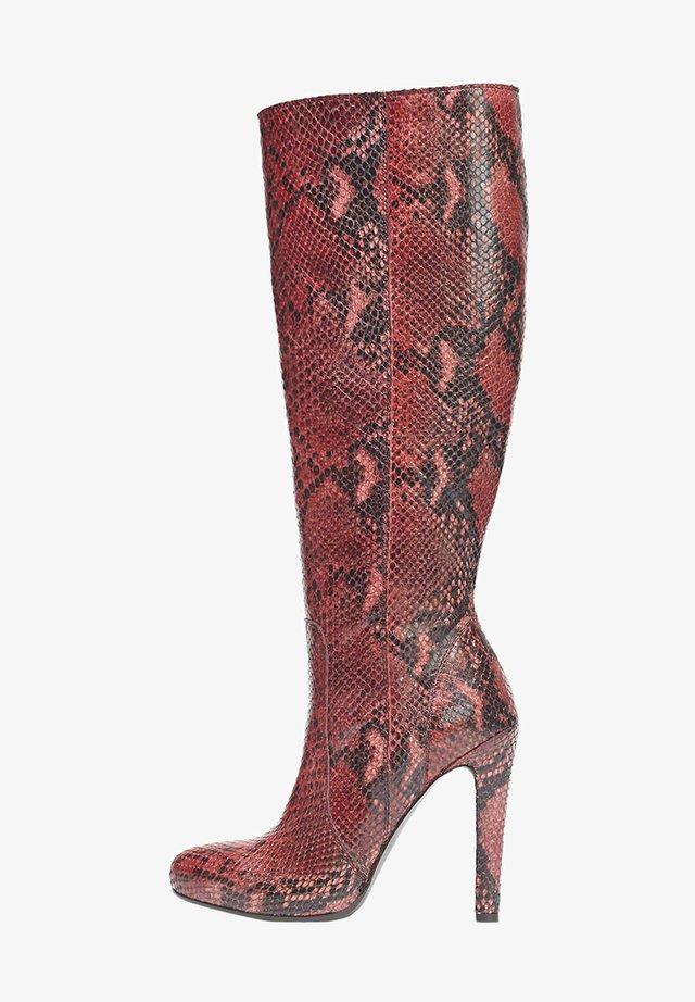 Laarzen - rot