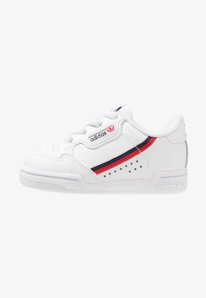CONTINENTAL 80 UNISEX - Baby shoes - footwear white/scarlet/collegiate navy
