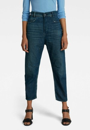BOYFRIEND  - Straight leg jeans - worn in atoll blue