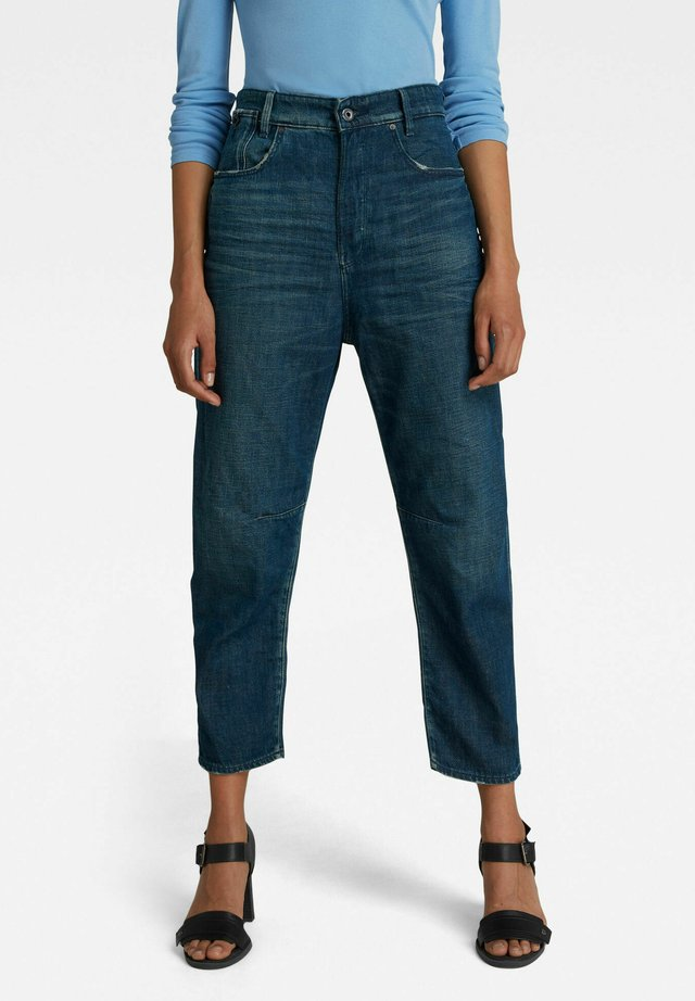 BOYFRIEND  - Jeans a sigaretta - worn in atoll blue